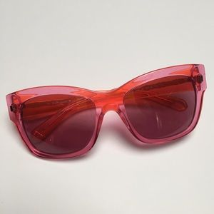 Kate Spade pink and orange sunglasses